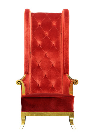upholster: Luxury Arm Chair in Thailand Hotel   Stock Photo