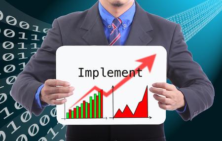 implement: Tipo di attivit� portatile per Implementare e muoversi con mercato mondiale