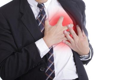 heartsick: Ataque al coraz�n, Uso mano agarrando un pecho con blanco
