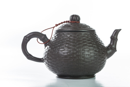 chinese tea: Chinese teapot isolated with white background