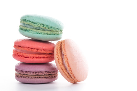 french cuisine: Macaroon sweet dessert french cuisine style for coffee break
