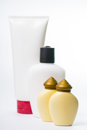 Group of packaging product in studio photo