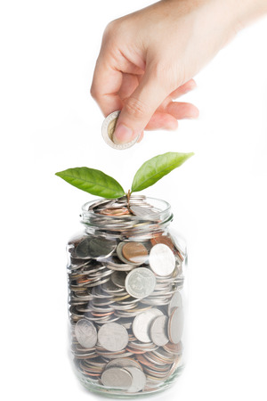 Deposit your budget for investment in the future photo