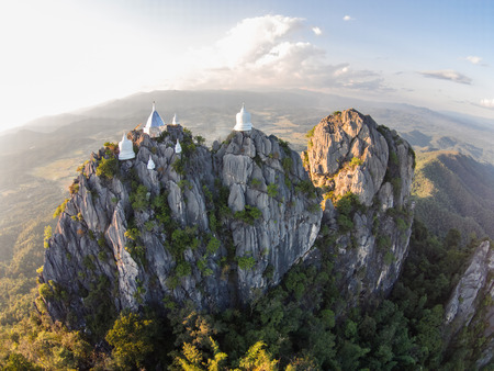 idolatry: Wat Pha Jom Kao Ra Cha Nu Son Temple in Thailand Rumphang