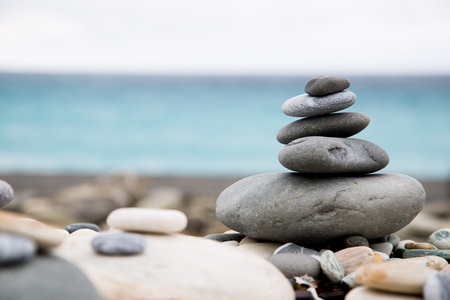 stack stones: Pyramid Stack stones balance your life and holiday.