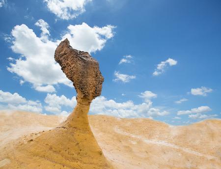 Queen Head Rock in Yehliu Geopark ,Taiwan