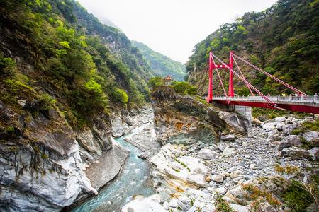 Taroko national park with High-dynamic-range in Taiwan. Standard-Bild
