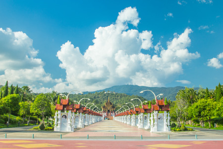 the royal park: Royal Park Rajapruek in Chiangmai, thailand