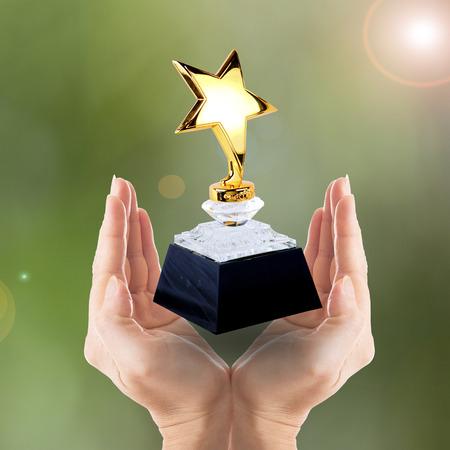 placa bacteriana: Star Award para usted ganador gente