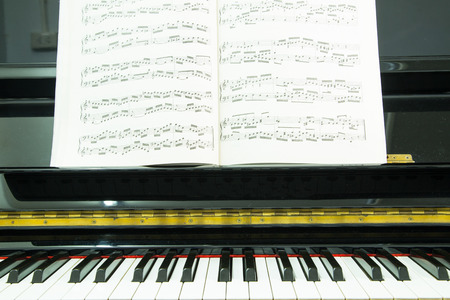 side keys: Piano keys ,side view of instrument musical tool. Editorial