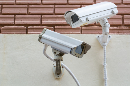 security monitor: Security Video Camera CCTV ,record monitor in city town
