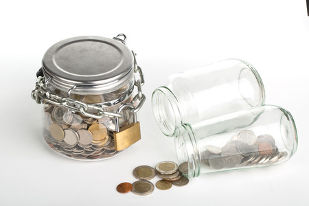 money savings: Save money, lock your budget for the future.