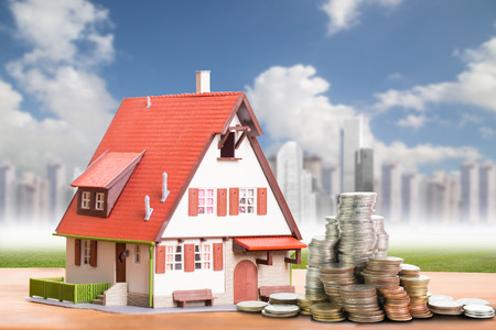 property agent: Model house with your deposit money