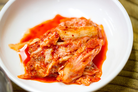 korea food: Kimchi ,Asian food famous korea food.