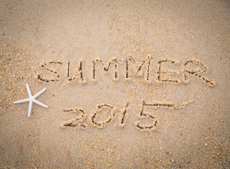 wrote: Summer 2015  text wrote for summer holiday concept
