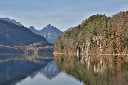 river side: Lake river side in Germany.
