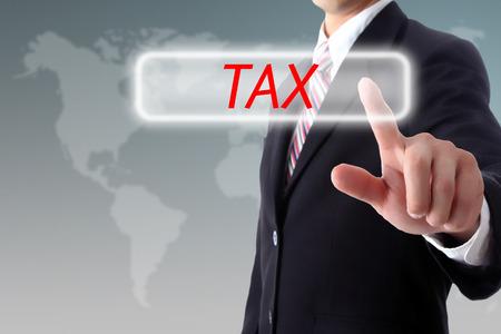 impuestos: IMPUESTOS, Toque de impuestos para preparar su dinero para pagar con la mano