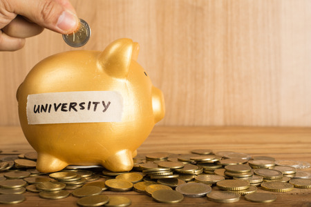 Save money for prepare  to study in university i