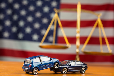 fender bender: Car accident need to justice in case can not negotiations in American law.