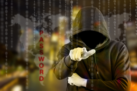 hacker: Hackers programmer look and search dat for hack information and data from user account.