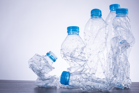 recyclable: Recycle bottles used plastic can recyclable waste.