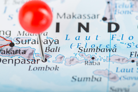 pin point: Bali Pin point city famous name of indonesia