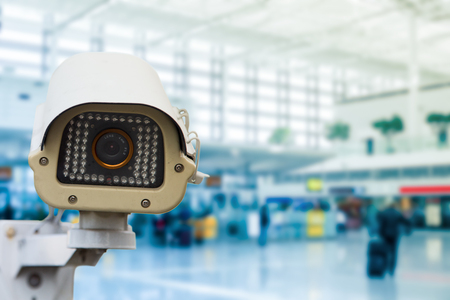 security monitor: CCTV security camera record video for monitor your place.