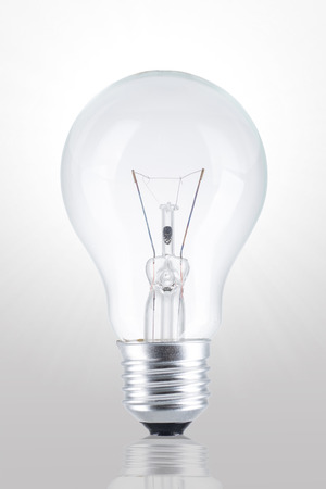 invent: Bulb light for your inspiration and innovation idea. Stock Photo