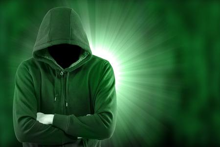 Hacker secutriy Ihre Daten und System mit dem Code Internet stehlen.