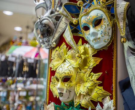 st mark: Venice carnival mark for festival in Italy.