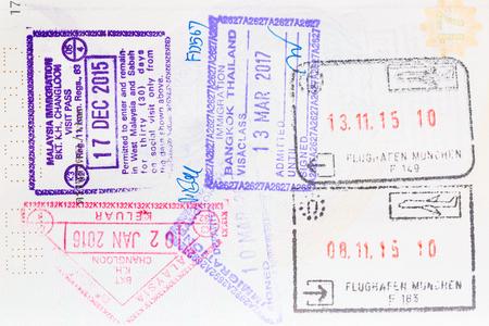 ヨーロッパの国で旅行をシェンゲンビザ。複数の国。
