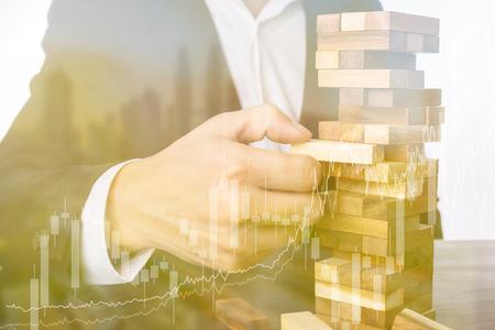 l & # 39 ; investissement des entreprises de l & # 39 ; investissement de Banque d'images