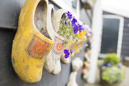 Dutch wood shoes netherland souvenir for trouist people.