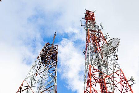 Telecommunication antenna satellite tower technology