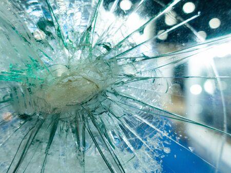 Broken glass background for your design