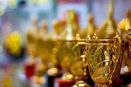 Trophy award for champion winner team Standard-Bild