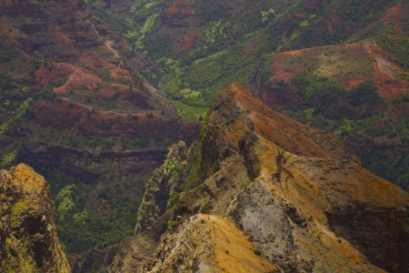 Waimea Canyon - Grand Canyon of the Pacific. On the island of Kauai in Hawaii. Stock Photo - 16659270