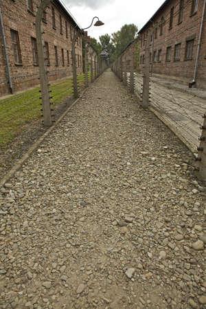 auschwitz memorial: Concentration camp at Auschwitz Editorial