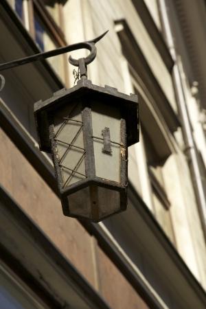 Old Street Lamp in Krakow Poland