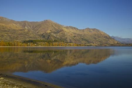 Lake Wanaka on the South Island of New Zealand