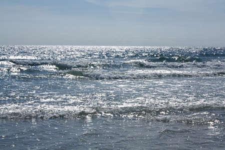 panama city beach: Onde che si infrangono Archivio Fotografico