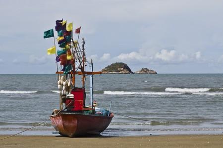 Huahin beach Thailand photo
