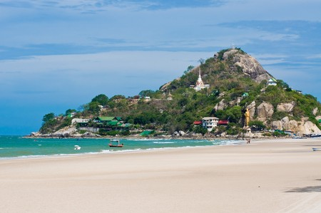 hua hin: Hua Hin beach,Thailand