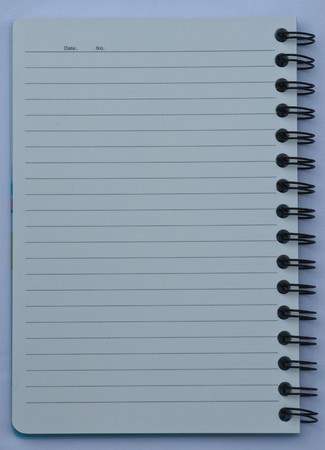 note book Stock Photo - 7463960