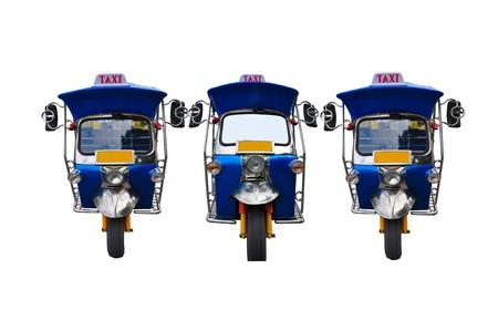 3 tuk tuk tricycles Stock Photo - 7515901