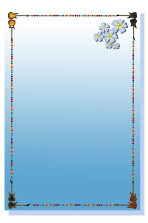 blue note paper photo