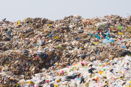 garbage heap photo