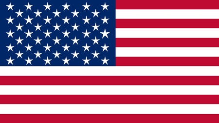 state government: The USA nation flag