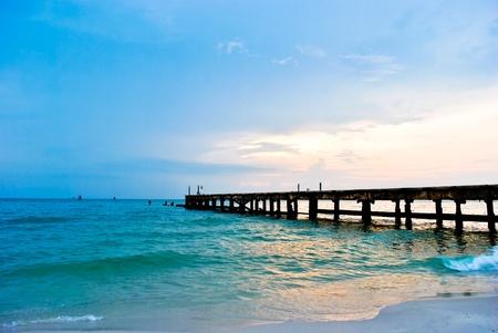 landscape of Hua Hin beach,Thailand Stock Photo - 9679249