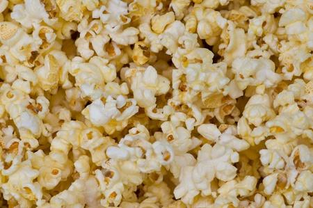 white popcorn background ready for eat photo